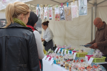 Farmers Market Crafts stall