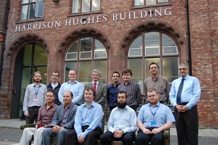 New members of staff in engineering