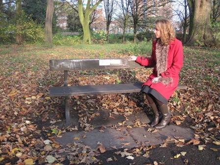 Caroline Elliott memorial bench