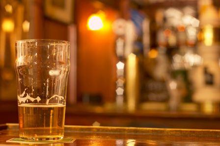 half a pint of beer