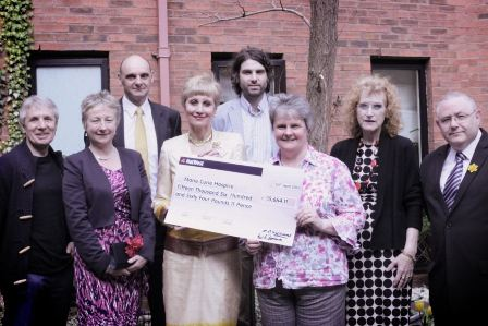 Marie Curie cheque may13