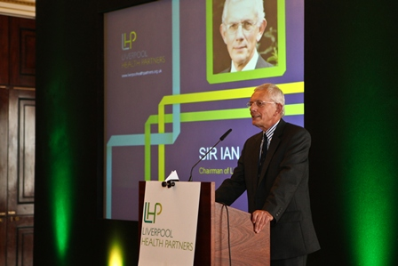 Professor Sir Ian Gilmore, Chairman of LHP and one of the top 100 Clinical Leaders in England