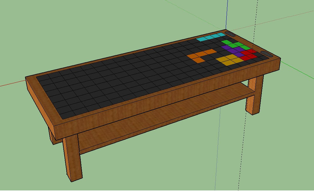 LED TABLE 1