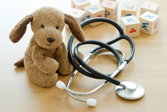 Child's toy and medical equipment