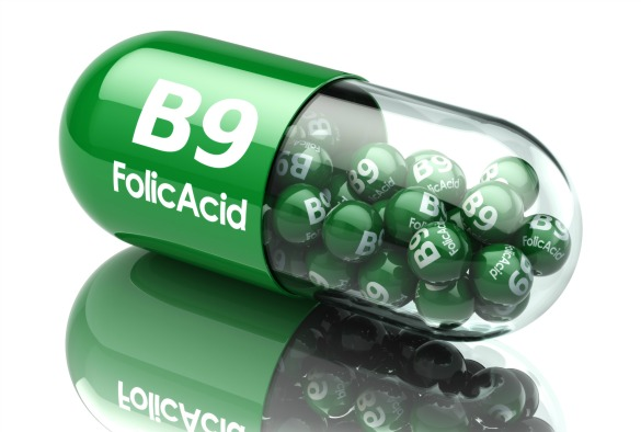 Folic acid capsule