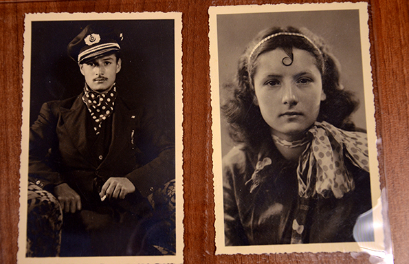 This is Fullu and his sister Tsiga, cousins of Unku and two of Weltzel's favourite subjects. Fullu was interned in Mauthausen and Dachau and died in an air raid in 1944, while deployed as a slave labourer at a sub-camp of Dachau; Tsiga's fate is so far unknown
