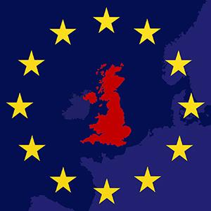 Brexit map texture