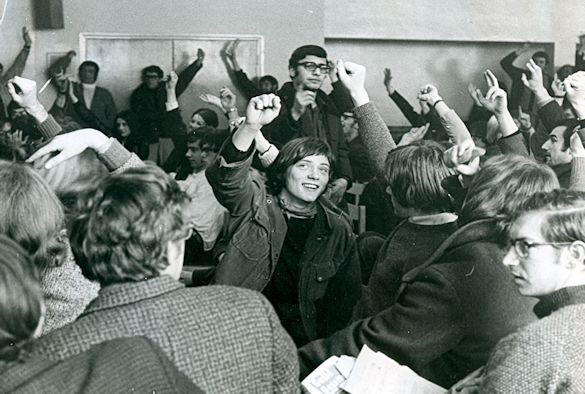 leader of 1970 student occupation to be honoured by university