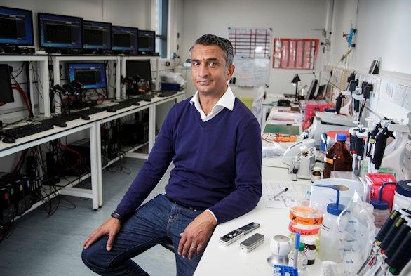 Business Life.Doctor Gordon Sanghera, CEO of Oxford Nanopore.