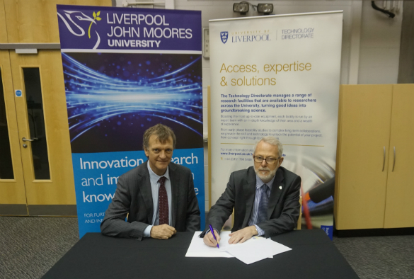 Professor Robin Leatherbarrow and Professor Bob Burgoyne