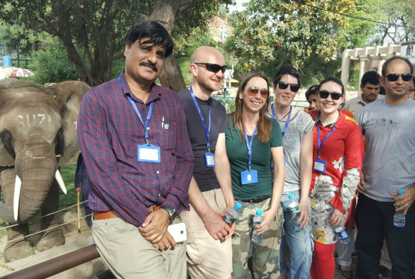 KE on Zoo and wildlife in Lahore Pakistan