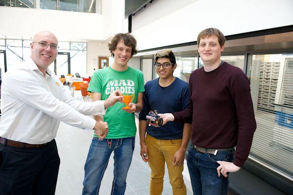 Awarding the Sensor City Cup_w