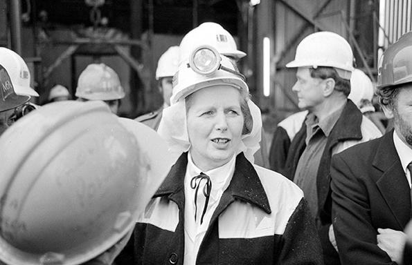 Margaret Thatcher Selby mine