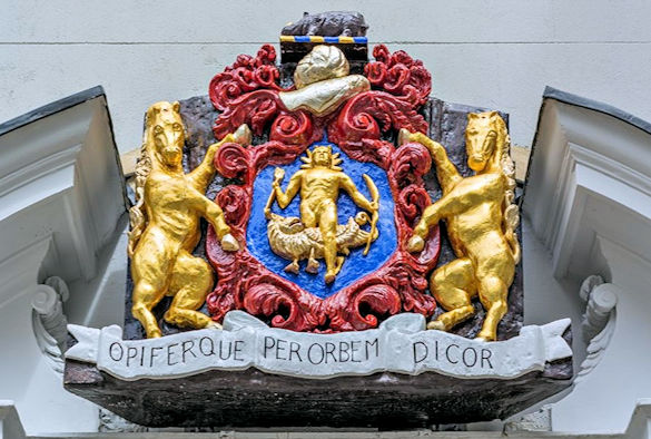 Worshipful Society of Apothecaries coat of arms