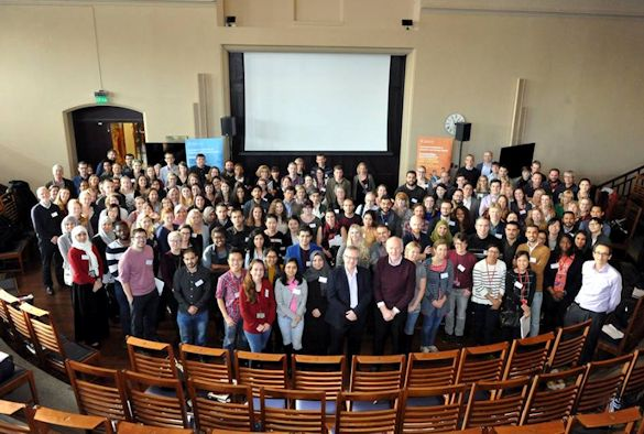 A group shot of the delegates at IGH day I