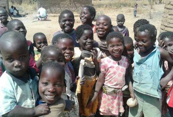 Malawian children. Credit: Dr Carina King