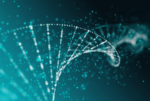 DNA abstract illustration