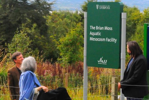 Naming of new mesocosm facility2