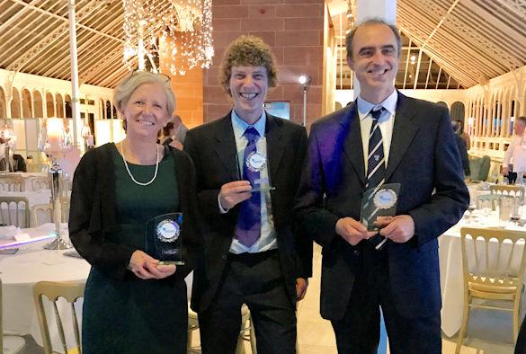 Professor Sarah Coupland, Dr Andrew Fielding, and Professor Ian Prior