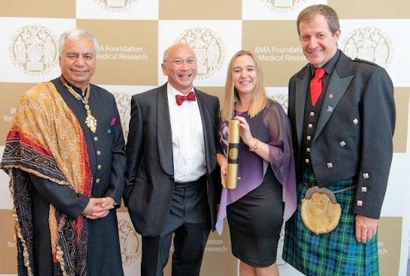 Dinesh Bhugra CBE, Professor Saye Khoo, Katie McAllister and Alastair Campbell