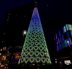 fc31759d33a The phenomenal 88 colour changing cubes will not disappoint after Christmas  shopping on a dark winters night.
