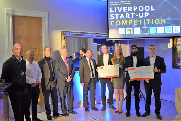 Liverpool Start-Up Competition winners