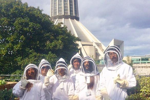 Green Guild Beekeeping University of Liverpool