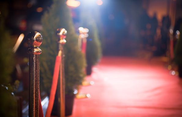 red carpet entrance
