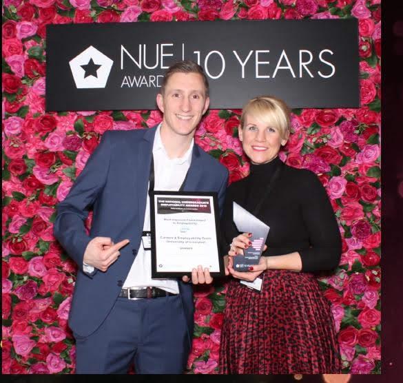 National Undergraduate Employability Award University of Liverpool