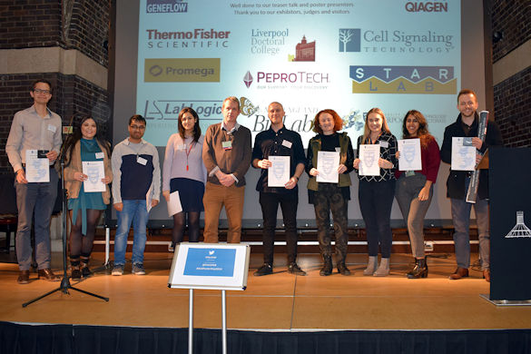 Faculty of Health and Life Sciences winners