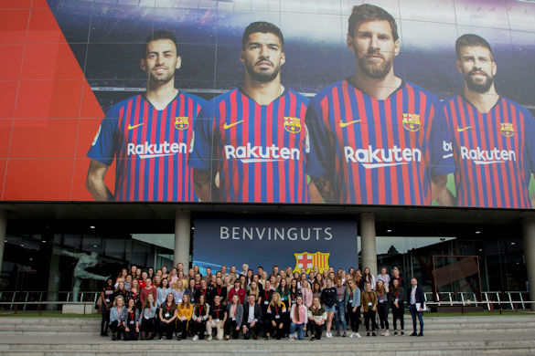 Women's football - Barcelona trip