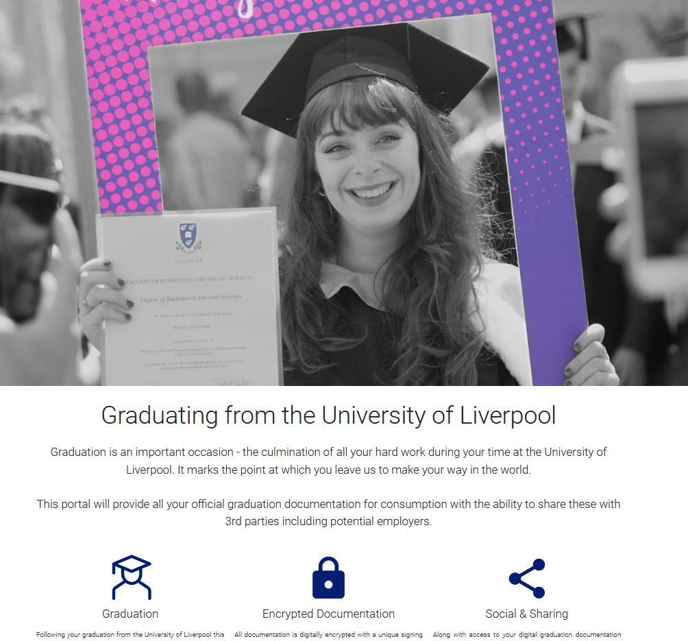 Graduation Portal