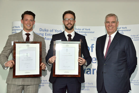 Medical students honoured at the Duke of York Young