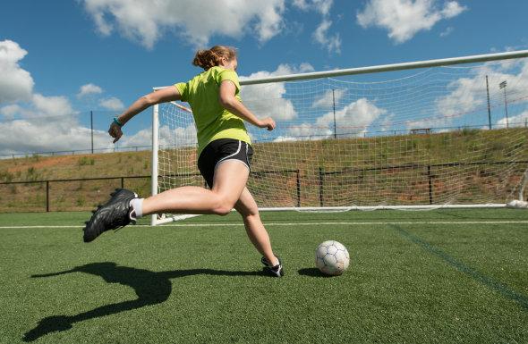 football practice