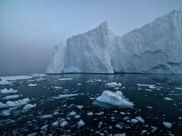 Ice Caps in the Artic
