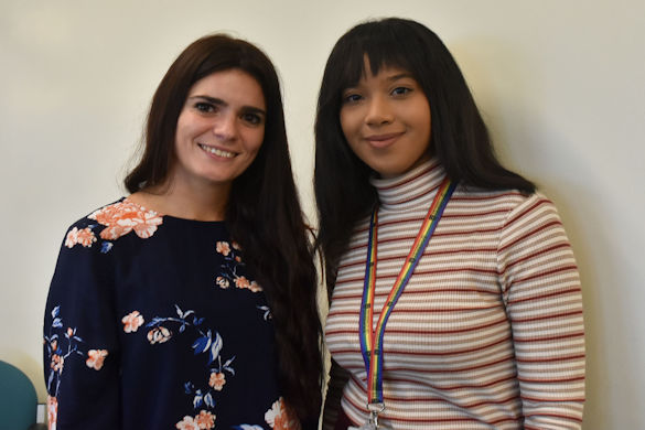 Gaia Lugano and Naomi Northage
