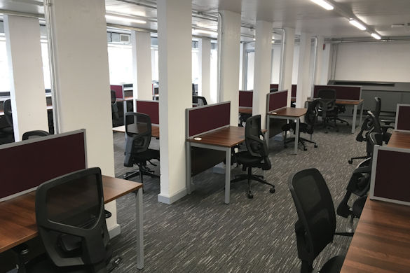 New Postgraduate Study Room in Harold Cohen Library