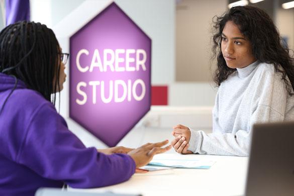 In the Career Studio